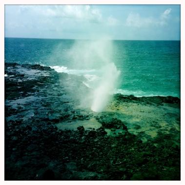 Spouting Horn, Kauai, HI